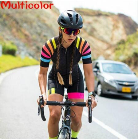 2019 macaco das mulheres triathlon manga curta ciclismo terno collants maillot ropa ciclismo terno de ciclismo macacão 1