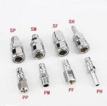 5/10/20PCS SH20 SH30 SH40 PH20 PH30 PH40 pneumatische luft kompressor schlauch von die schnelle koppler stecker stecker