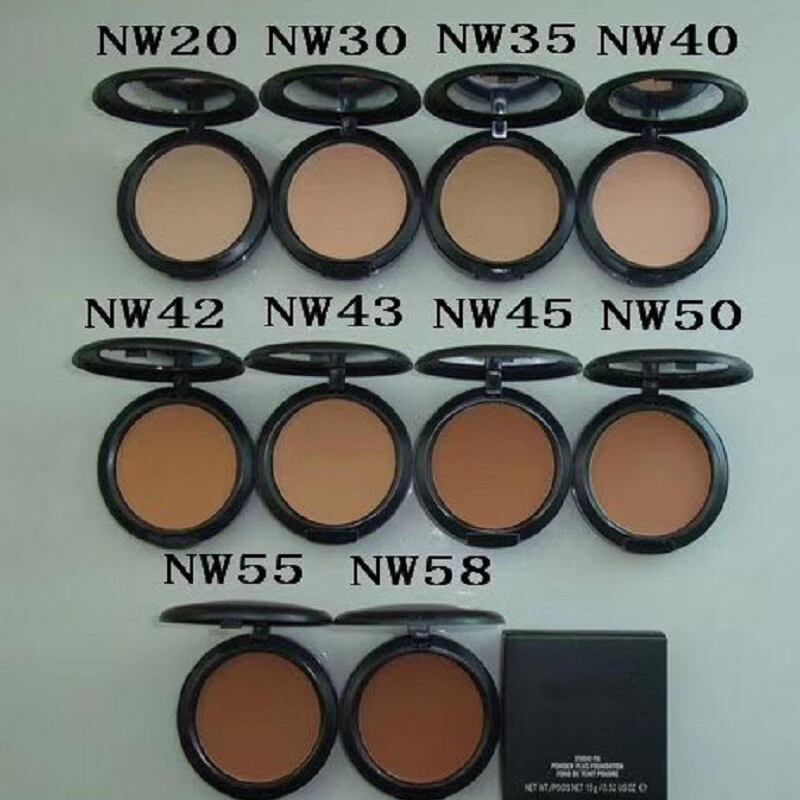 Brand New Fix Powder Plus Foundation 15G  NW20-NW58 NC20- NC55 21 Color