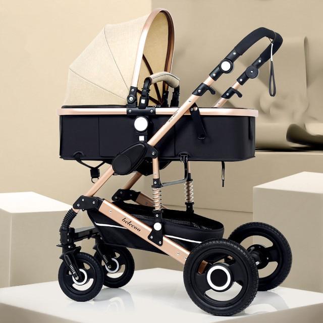 Adjustable Kereta Dorong Bayi 3 in 1 4