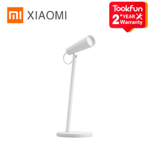 XIAOMI MIJIA Mi LED USB ชาร์จ USB อ่านโคมไฟตั้งโต๊ะสำนักงานศึกษาตารางแบบพกพา Night Light 120 ° การหมุน