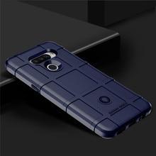 Silicone Case For LG Stylo 6 5 K51 Q51 K50s V50s Q60 Q70 Q61 K61 Shockproof Armor Phone Cover For LG V30 V40 V50 V60 ThinQ Case недорого