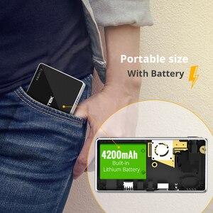 Image 4 - 2020 חדש BYINTEK P10 חכם אנדרואיד Wifi מיני כיס נייד מלא HD LED מקרן עבור Smartphone קולנוע ביתי 1080P מקסימום 4K