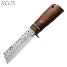Forged Outdoor Tactical Survival Army Knife Straight Knife Multi-function Knives Self-defense Cold Weapon Cuchillos De Cocina