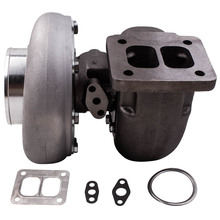GT45 GT45R Turbo Charger V-Band 600+BHP 8psi T4 Flange 1.05 A/R .66 T66 twin scroll Racing turbine turbolader