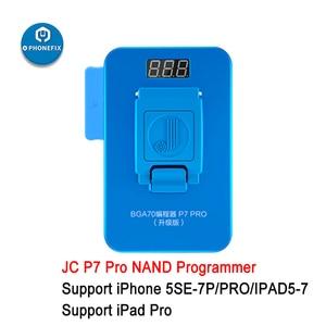 Image 5 - JC P11 BGA110 מתכנת עבור iPhone 8/8P/X/XR/XS/XSMAX JC P7 פרו עבור 5SE 7P /iPad NAND לקרוא לכתוב זיכרון שדרוג שגיאת תיקון
