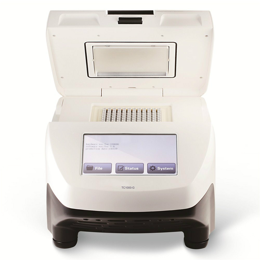 PCR Thermocycler Gradient PCR Gene Amplification Instrument 96*0.2mL For Biotechnology Cloning Genotyping Mutagenesis TC1000-G