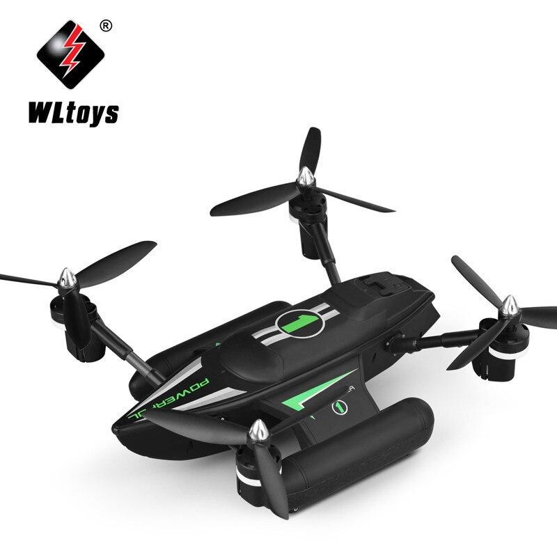 WLtoys Q353 RC Drone Dron RTF Aria Land Sea Modalità Headless Modalità di Una Chiave di Ritorno RC Quadcopter Giocattoli di Controllo Radiofonico drone con la Luce - 2