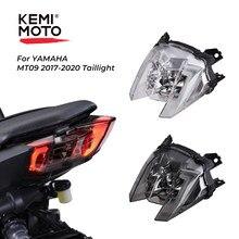 Światło tylne dla Yamaha MT 09 2019 światło stopu MT09 2018 Taillight MT-09 2017 motocykl LED tylne ostrzeżenie Turn Signal FZ09 FZ-09