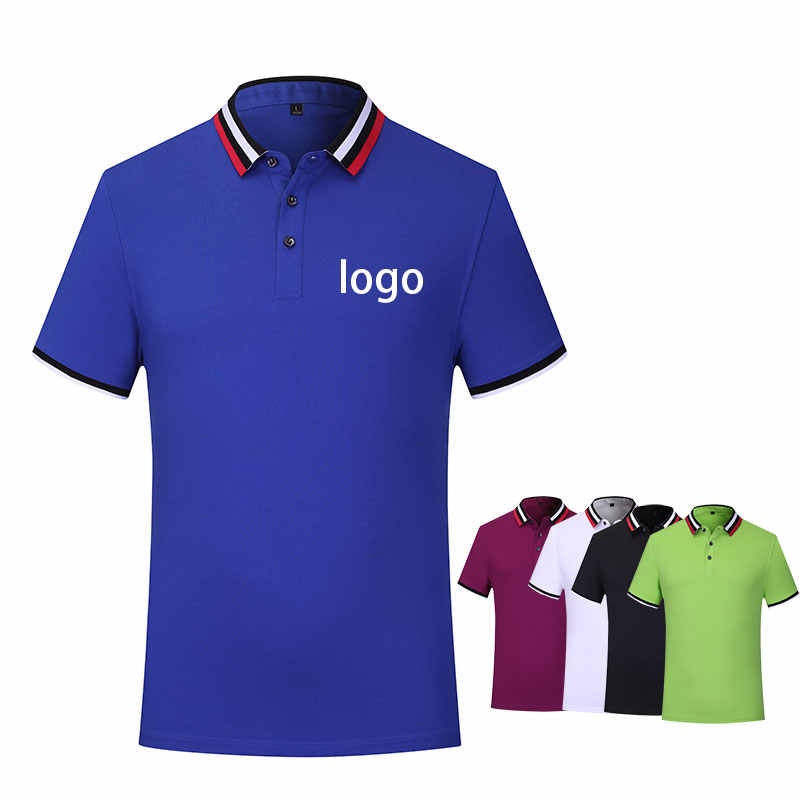 Customized group advertising shirt solid Polo shirt classmates short-sleeved factory clothes printing embroidery logo