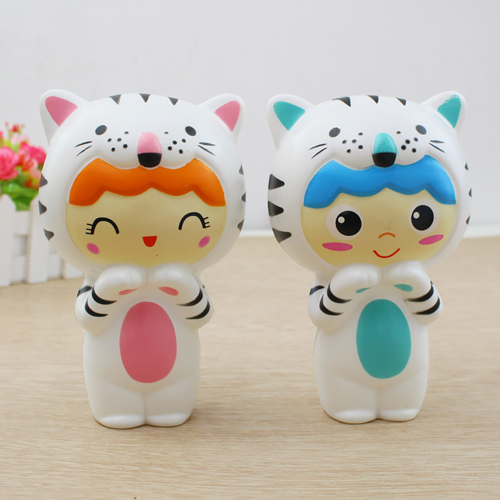 Squishy Kawaii Gigantes Soft Squeeze Toys Squishy Cute Tiger Baby Stress Reliever Scented Super Slow Rising ToyW803