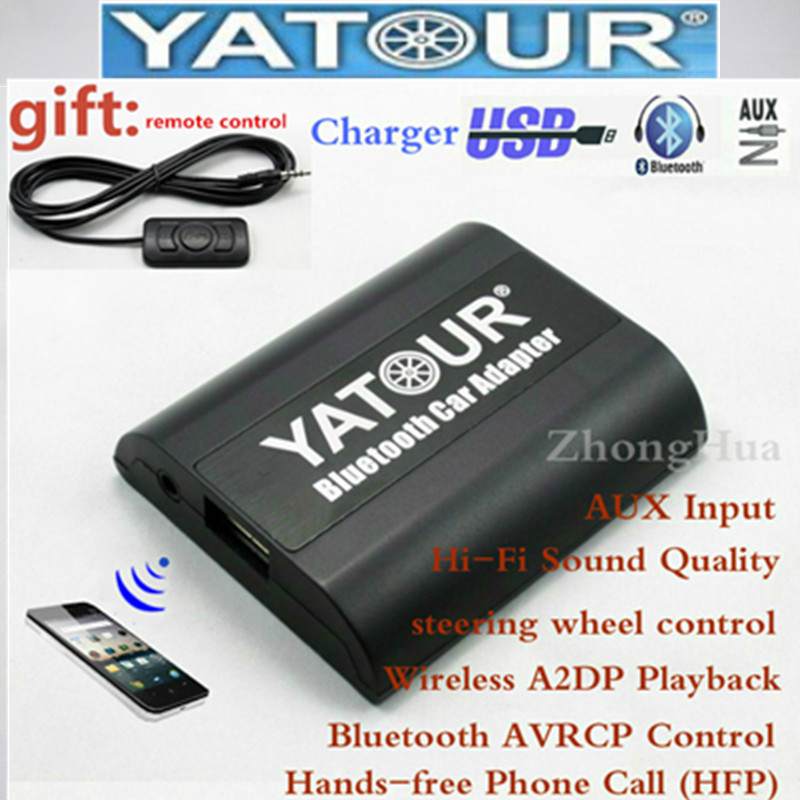 Hands free Call Yatour Bluetooth Car Adapter for Peugeot Citroen RD3 RB3 RM2 etc