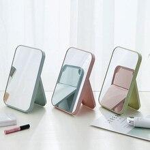 TWDW Creative makeup mirror simple portable small mirror dressing table desktop beauty mirror bedroom dormitory desktop vanity многофункциональное зеркало vh portable beauty mirror m01 голубой