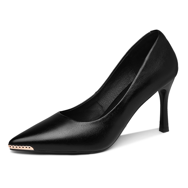 2021 Designer Sexy Women's Pumps Office Lady Stiletto High Heels Pointed Toe Fashion Wedding Dress Party Shoes *