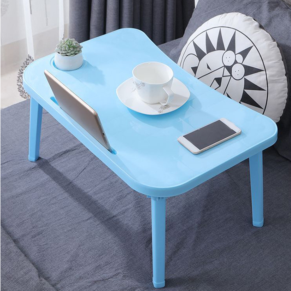 Laptop Desk TV Bed Lapdesk Tray PC Table Stand Notebook Table Lazy Breakfast Serving Bed Trays Adjustable Foldable Computer Desk