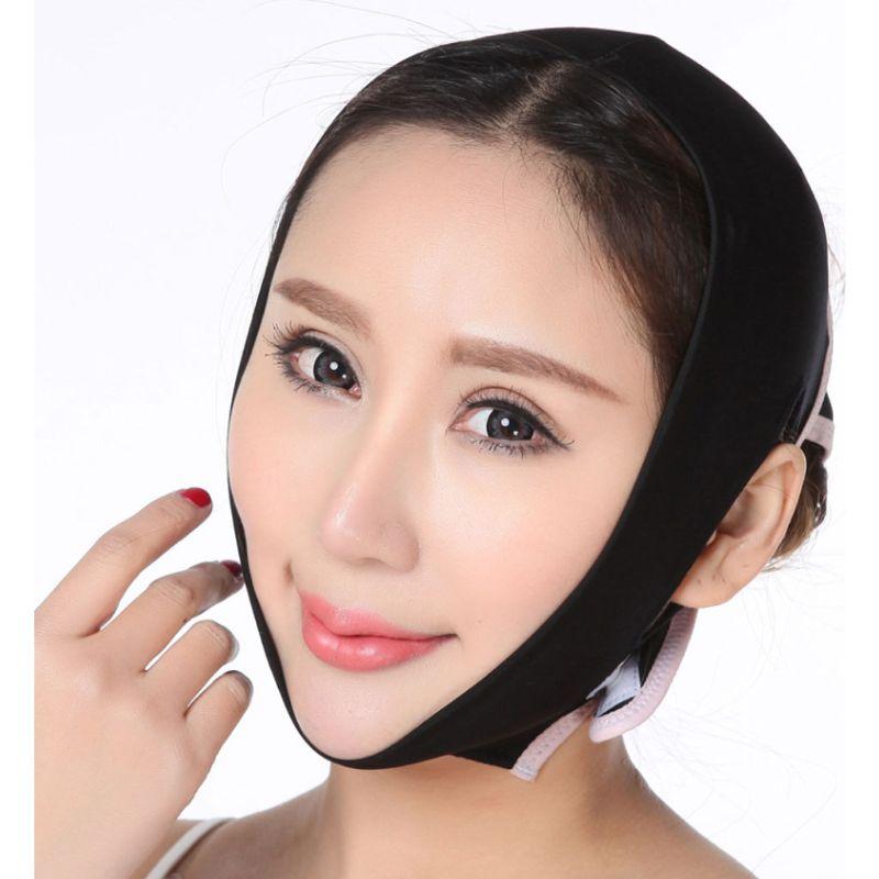 V Face Shaper Mask Facial Slimming Criss Cross Bandage Belt Relaxation Cheek Lift Tape Reduce Double Chin Thining Massager Starp
