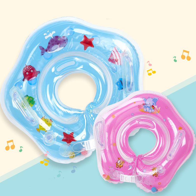 Baby Neck Float Swimming Pool Accessories Baby Inflatable Swimming Ring For Newborn Baby