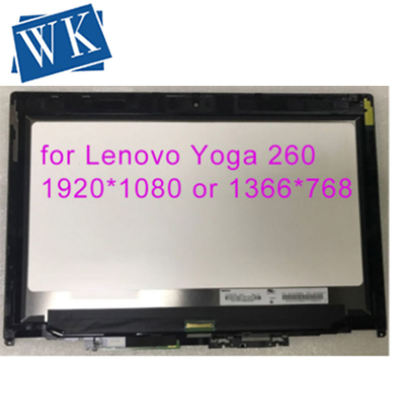 12.5 Inch LCD Display Touch Laptop Screen Digitizer Assembly For Lenovo Thinkpad Yoga 260