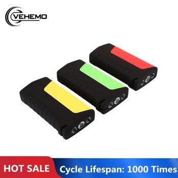 Vehemo with LED Dual USB Premium DIY Car Jump Starter Kit Automobile Power Bank Jump Starter Kit Motorcycle Power Kit Portable