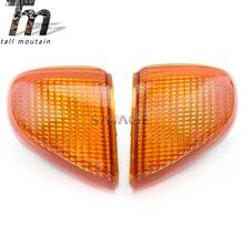 Front Turn Signal Light Lens For KAWASAKI ZZR 1100 D ZX-11 NINJA 93-01, ZZR1200 02-05 Motorcycle Indicator Lamp Cover ZZR1100D недорого
