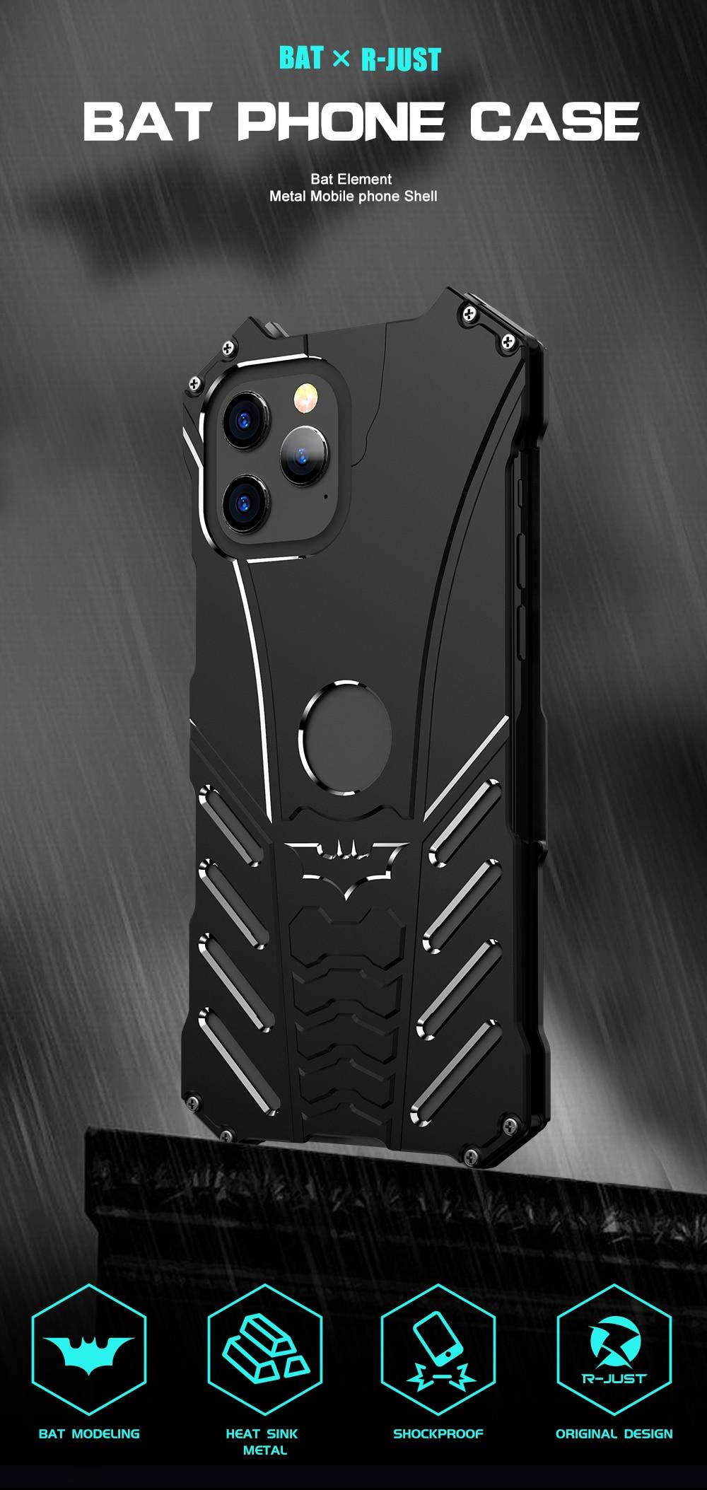 iPhone 12 Batman Aluminum phone case (1)