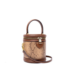 New Round Bag Genuine Leather