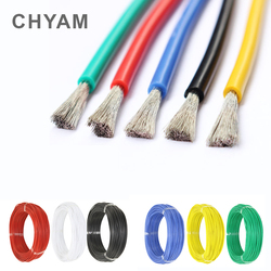 Heat-resistant Cable Wiring Soft Silicone Wire 12AWG 14AWG 16AWG 18AWG 20AWG 22AWG 24AWG 26AWG 28AWG 30AWG Connector
