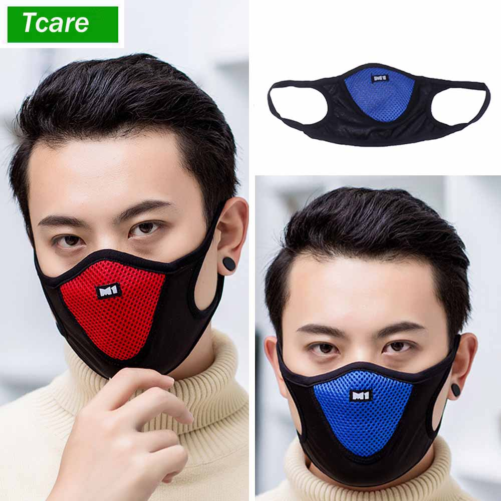 1Pcs Reusable Windproof Mouth Mask Mesh Anti Dust Nose Protection Face Mouth Mask Fashion Anti-Pollution Air Cotton Masks
