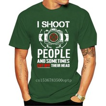 I Shoot People And Sometimes Cut Off Their Heads Photographer Unisex T Shirt