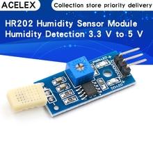 HR202 Humidity Sensor Module Humidity Testing Module Humidity Detection 3.3 V to 5 V