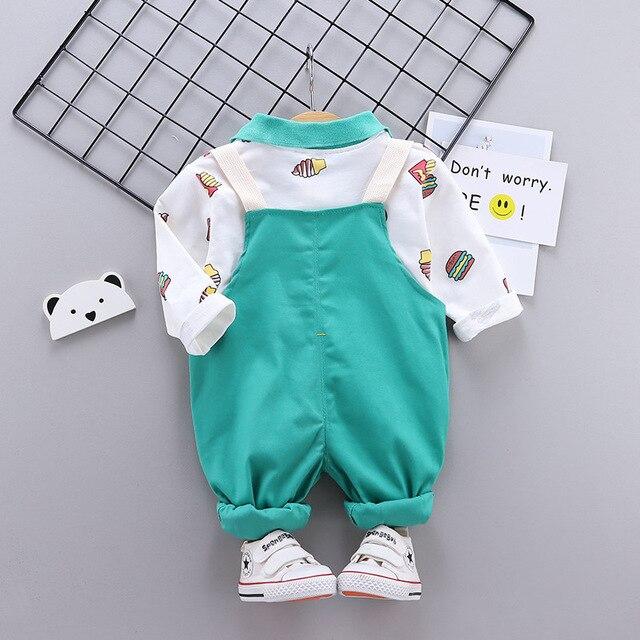 Купить весенне осенняя модная хлопковая одежда для маленьких мальчиков картинки цена