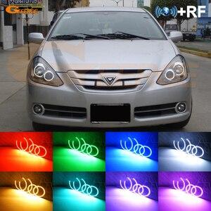 Image 1 - Para Toyota Corolla T24 facelift 2005 de 2006, 2007, excelente RF remoto Bluetooth APP Multi Color Ultra brillante RGB kit de luces LED Ojos de Ángel