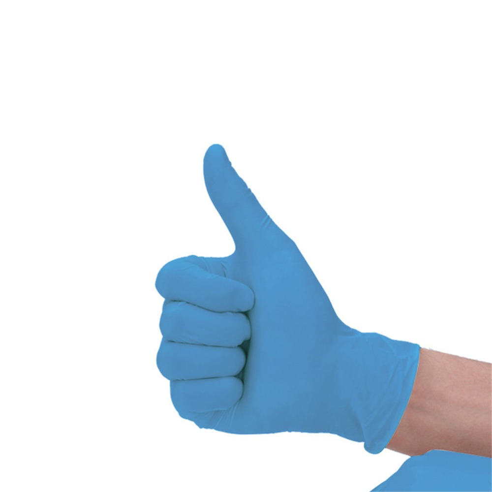 Durable Nitrile Disposable Gloves Medical Food Handling Rubber Latex D699