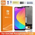 Оригинальный ЖК-дисплей для Xiaomi poco F1 ЖК-дисплей сенсорный экран дигитайзер сборка для xiaomi mi Pocophone F1 ЖК-экран