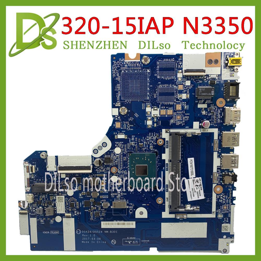 KEFU NM B301 for Lenovo Ideapad 320 15IAP Laptop motherboard DDR3L 5B20P20644 N3350 CPU 100% Tested original work|Laptop Motherboard| |  - title=