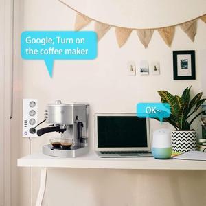 Image 5 - Wifi tira de energia inteligente protetor contra surtos 4 vias tomada tomada da ue soquetes com usb homekit adaptador controle remoto por alexa casa do google