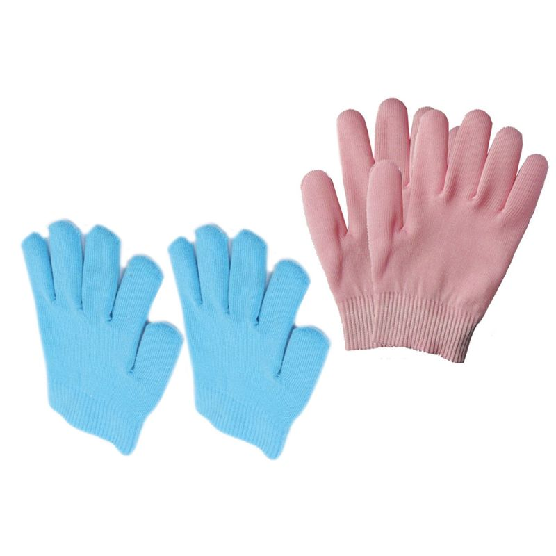 1Pair Gel SPA Moisturizing Gloves Soft Cotton Moisturizing Whitening Exfoliating Foot Mask Smooth Skin Care Dry Treatment Beauty
