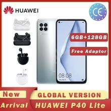 HUAWEI P40 Lite смартфон глобальная версия 6 ГБ 128 48MP AI Quard камера 6,4