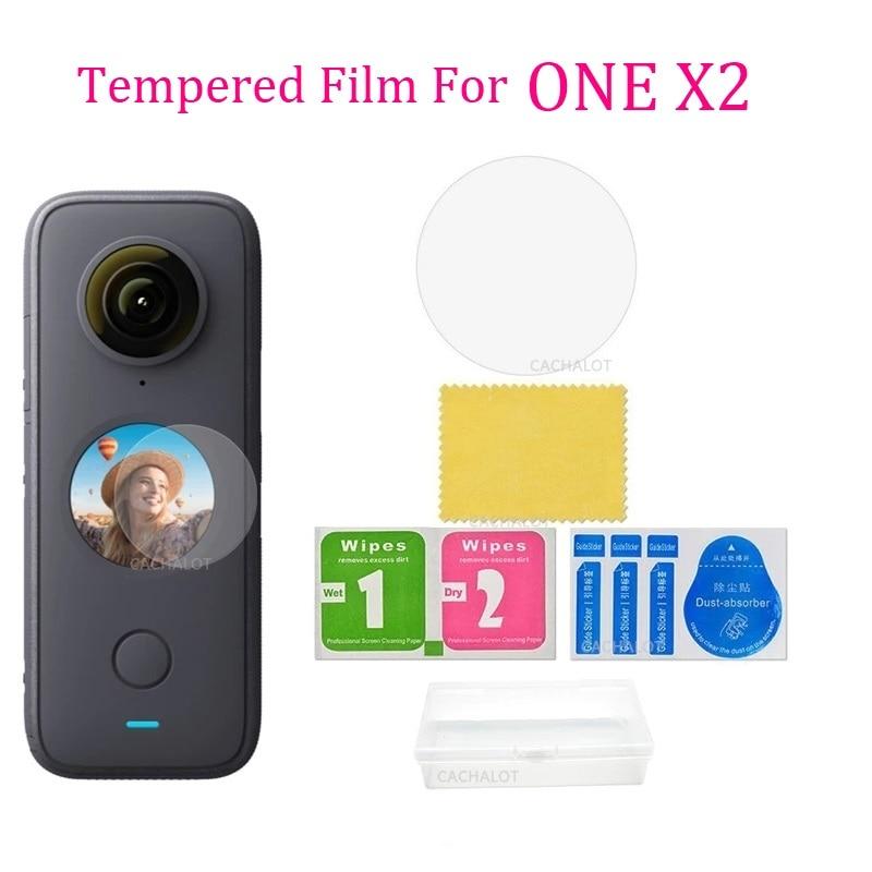 Insta360 один X2 закаленная Защитная стеклянная пленка для экрана для Insta 360 один X2 Камера аксессуар