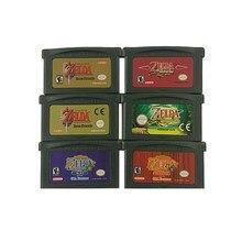 Novo ndsl/gb/gbc/gbm/gbasp a lenda de zelda jogo cartão console clássico jogo coletar versão colorida inglês idioma