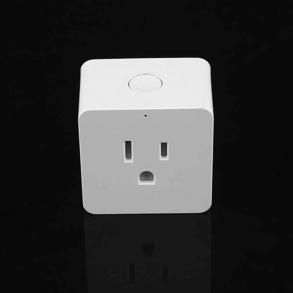 Inteligentny dom wtyczka zasilania wtyczka zasilająca Wifi przełącznik gniazda dla inteligentnego domowy zdalny sterowania moduł przekaźnika automatyki US wtyczka