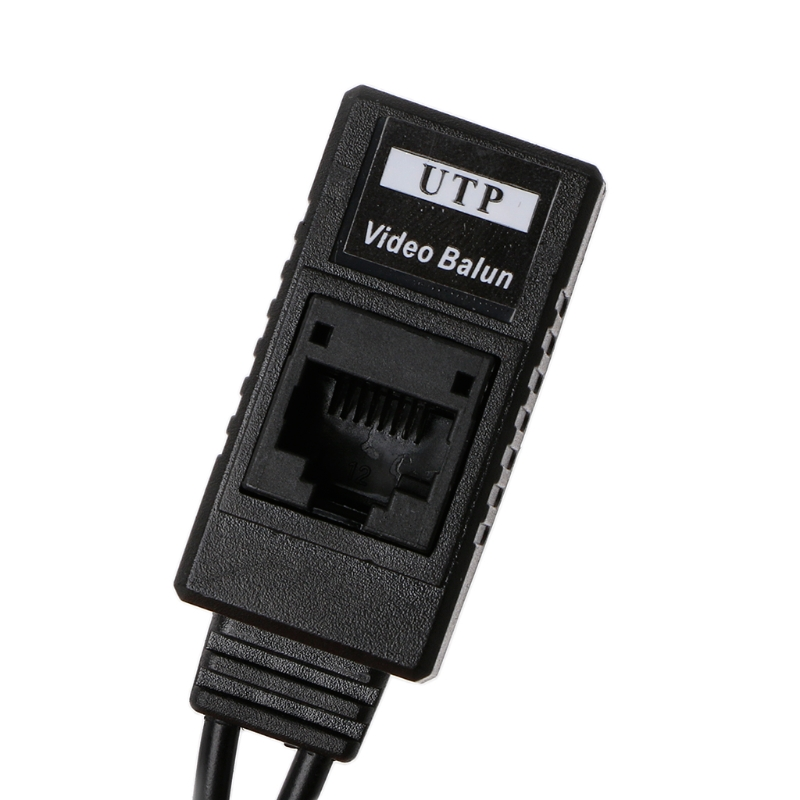 ANPWOO BNC To RJ45 Passive Video Power + Audio Balun Transceiver For CCTV Camera