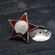 Order of Red star Russian Red Army Soviet Union USSR military Medal Badge Commemorative coins Brooch
