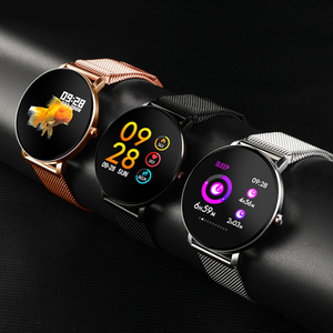 Image 5 - Super Slim Smart Watch Men IP68 Waterproof Sports Smartwatch Men Clock Heart Rate Monitor Fitness Bracelet reloj inteligente K9