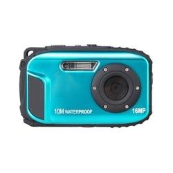16MP LCD Monitor Waterproof Camera 10 Meters Bare Metal Waterproof Camera Outdoor Sports Digital Camera