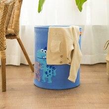 Laundry Basket Toy Storage Clothes organizer Baskets Home Organization Stripe