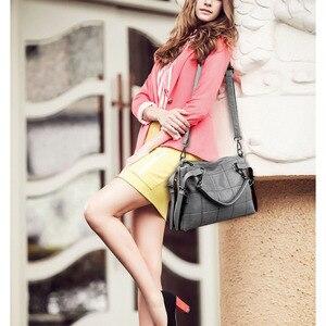 Image 4 - Yonder Brand fashion women handbags female Crossbody shoulder bags for women 2020 luxury handbag leather gray hand bags ladies