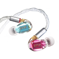 3BA In Ear Monitors Professional Headphones Noise Canceling Wired Earbuds Stereo Headset Mmcx Replaceable Cable