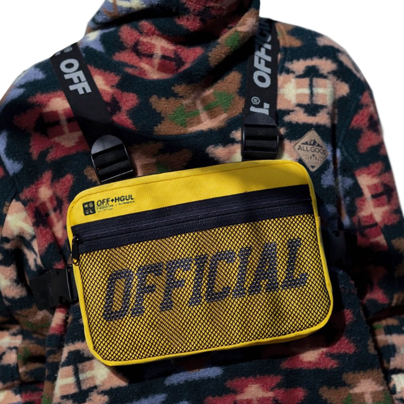 Men Tactical Vest Bag Male Tactical Chest Bag Canvas Waistcoat Packs Streetwear Hip-hop Vest Men Chest Rig Bag Boy Travel Bags