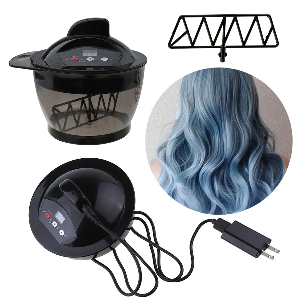 Professional Hair Color Dyeing Electric Hair Coloring Automatic Mixer Hairs Color Cream Mixing Bowl Hairdressing Tool Device